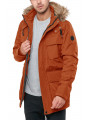 Cynical Aspen Hooded Parka Jacket Burnt Orange