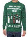 Christmas Jumper Timer For Beer Green