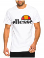 Ellesse Prado Logo T-Shirt Optic White