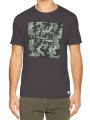 Firetrap Yakona Crew Neck Cotton Printed T-shirt Raven