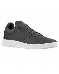 K-Swiss Men's Aero Lightweight Mesh Gym Shoes Trainers Castle Gray | Jean Scene