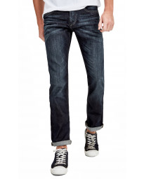 Jack & Jones Clark Original Slim Fit Denim Jeans Dark Blue | Jean Scene