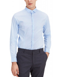 Jack & Jones Slim Parma Long Sleeve Shirt Cashmere Blue | Jean Scene