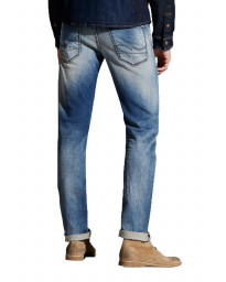 Jack & Jones Glenn Original Slim Fit Denim Jeans Indigo Knit | Jean Scene