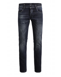 Jack & Jones Glenn Original Slim Fit Denim Jeans Black | Jean Scene