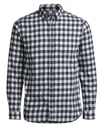 Jack & Jones Originals William Check Shirt Long Sleeve Cloud Dancer | Jean Scene