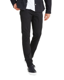 Jack & Jones Marco Enzo Slim Fit Cotton Chinos Black | Jean Scene