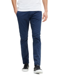 Jack & Jones Marco Enzo Slim Fit Cotton Chinos Navy | Jean Scene