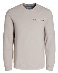 Jack & Jones Core Men's Pete Logo Sweatshirt Simply Taupe | Jean Scene