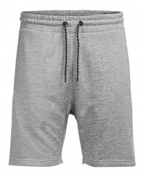 Jack & Jones Core Speed Jogger Shorts Light Grey Melange | Jean Scene