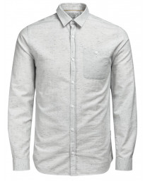 Jack & Jones Originals Regular Sustain Long Sleeve Shirt Oyster | Jean Scene