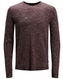 Jack & Jones Crew Neck Cotton Grow Jumper Port Royal | Jean Scene