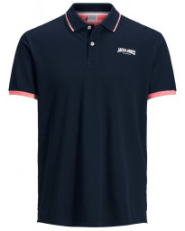 Jack & Jones Original Retro Polo Shirt Total Eclipse | Jean Scene