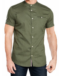 Jack & Jones Originals Slim Greg Shirt Short Sleeve Thyme | Jean Scene