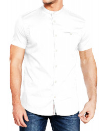 Jack & Jones Originals Slim Greg Shirt Short Sleeve White | Jean Scene