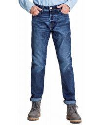 Jack & Jones Mike Original Comfort Fit Denim Jeans 771 Blue | Jean Scene