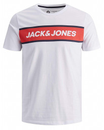 Jack & Jones Logo Men's T-Shirts White | Jean Scene