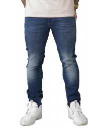 D555 Ambrose Stretch Denim Jeans Dark Blue | Men's D555 Jeans | Jean Scene