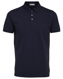 Selected Damon Polo Shirt Dark Sapphire | Jean Scene