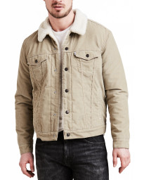 Levis Type 3 Sherpa Men's Jacket True Chino Cord | Jean Scene