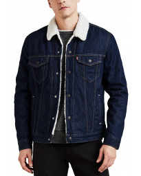 Levis Type 3 Sherpa Men's Jacket Rockridge Trucker | Jean Scene