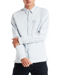 Levis Long Sleeve One Pocket Plain Shirt Super White Light | Jean Scene
