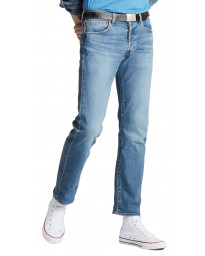 Levis 501 Denim Jeans Dark Blue Ironwood Overt Blue | Jean Scene