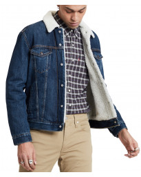 Levis Type 3 Sherpa Denim Men's Jacket Palmer | Jean Scene
