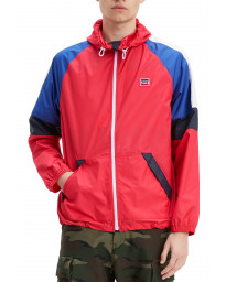 Levis Colour Block Windrunner Men's Jacket Chinese Red | Jean Scene