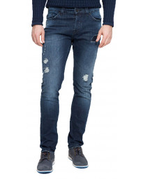 Only & Sons Loom Slim Fit Denim Jeans 4347 Dark Blue | Jean Scene