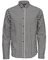 Only & Sons Originals Slim Gordey Long Sleeve Shirt Cloud Dancer | Jean Scene