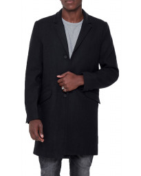 Only & Sons Wool Coat Black | Jean Scene