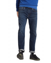 Levis 502 Denim Jeans Dark Blue Adriatic Adapt Blue | Jean Scene