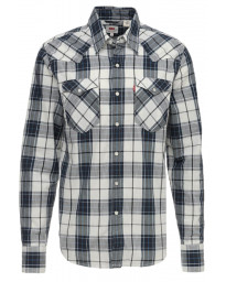 Levis Barstow Western Men's Shirt Dress Blues | Jean Scene