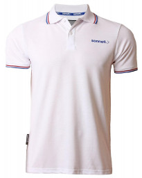 Sonneti Men's City Road Polo Shirt Optic White