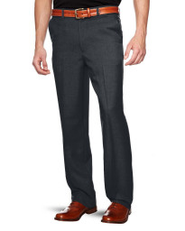 Farah Flexi Waist Trousers Charcoal Grey