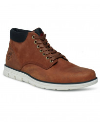 Timberland Mens Bradstreet Chukka Leather Boots Boots Brown | Jean Scene