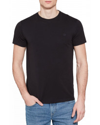 Timberland River Dunstan Regular Crew Neck T-Shirt Long Sleeve Black | Jean Scene
