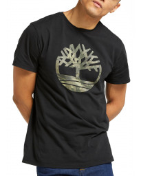 Timberland Kennebec Tree Regular T-Shirt Black | Jean Scene