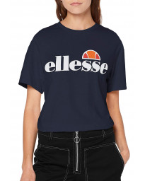 Ellesse Womens Logo T-Shirt Short Sleeve Navy | Jean Scene