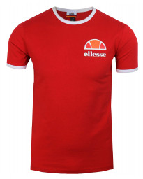 Ellesse Logo T-Shirt Short Sleeve Red | Jean Scene