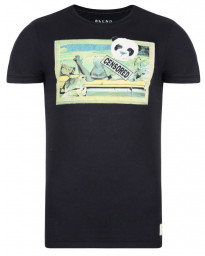 Blend Panda Girl Printed T-shirt Black Image