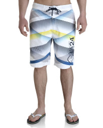 Smith & Jones Swim Beach Shorts & Flip Flop Set Stripe White Image