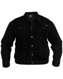 Duke Big Kingsize Black Denim Jacket Image