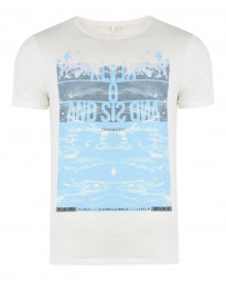 Blend Kuta Surf Beach Summer Print T-shirt Beige Image