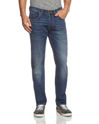 Lee Daren Regular Slim Epic Blue Faded Denim Jeans Image