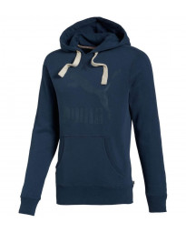 Puma Heritage Hooded Sweatshirt Blue Image