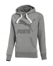Puma Heritage Hooded Sweatshirt Grey Image