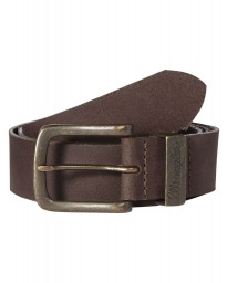 Wrangler Basic Metal Loop Leather Belt Brown Image