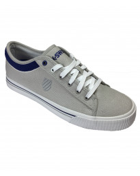 K-Swiss Men's Bridgeport Canvas Shoes Trainers Grey | Jean Scene